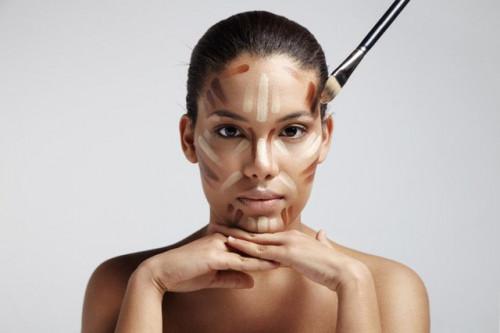 Le contouring, sculpte et photoshop votre visage
